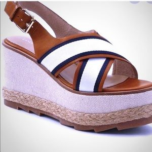 Lands End Wedges Sz 9.5